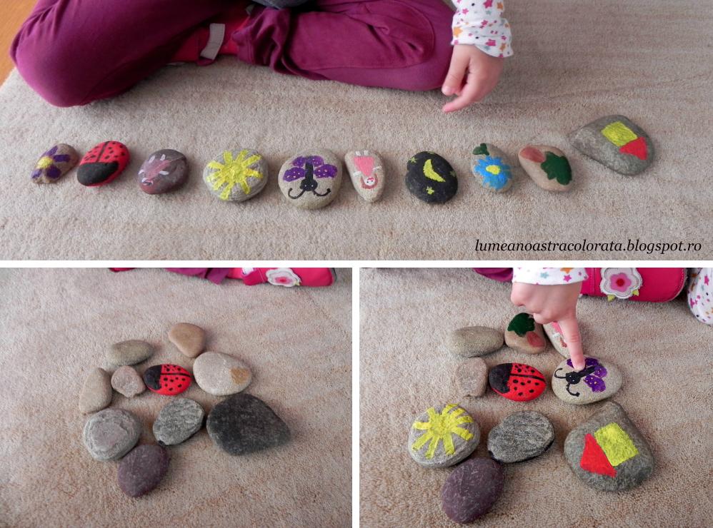 Story stones sau pietre pentru spus povești