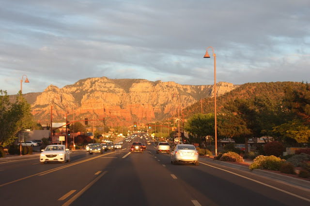 Sedona downtown Arizona