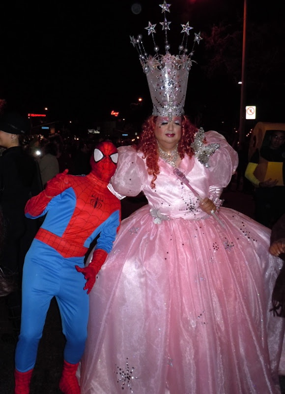 Drag Glinda Good costume West Hollywood Halloween Carnaval