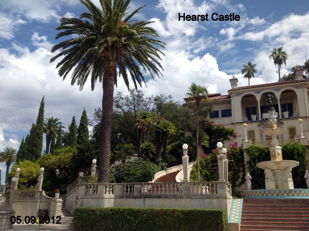 Jan Martin 39 S Travel Blog San Simeon Hearst Castle Usa