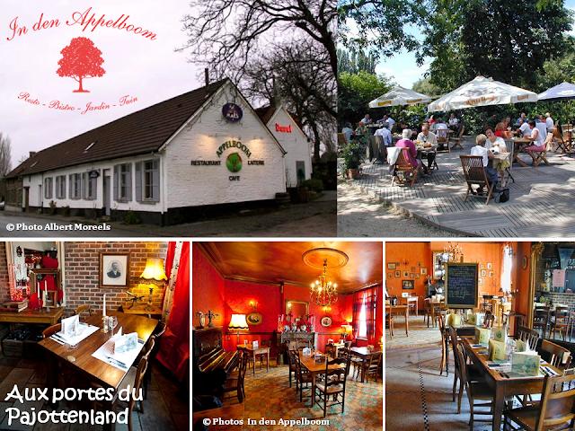 """FRUIT TIME - Aux portes du Pajottenland - Bistro-Restaurant """"In den Appelboom"""" - Bruxelles-Bruxellons"""
