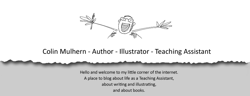 Colin Mulhern - Author - Illustrator - Teaching Assistant
