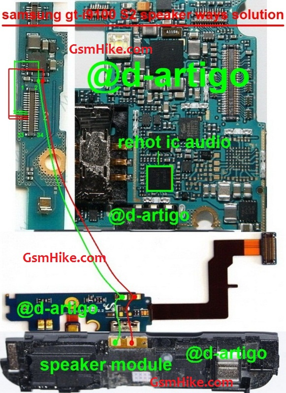 Samsung Galaxy S2 repair services - repair display/screen