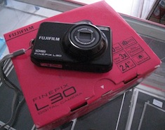 jual camera 2nd fujifilm finepix l30