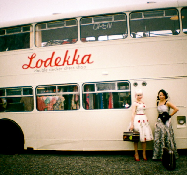 Lodekka, the Double-Decker Dress Shop