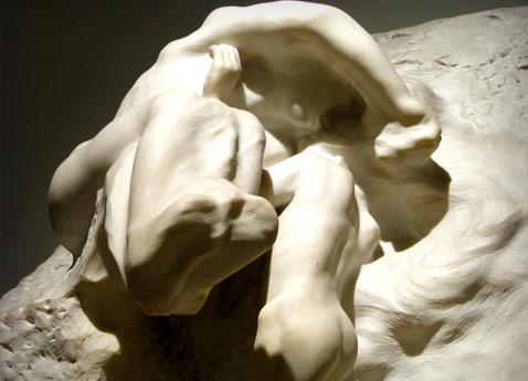 la tierra y la luna, Rodin