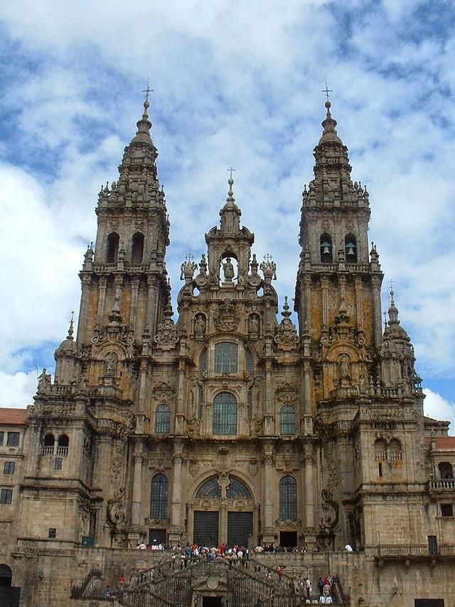 Basílica of Santiago de Compostela, Spain