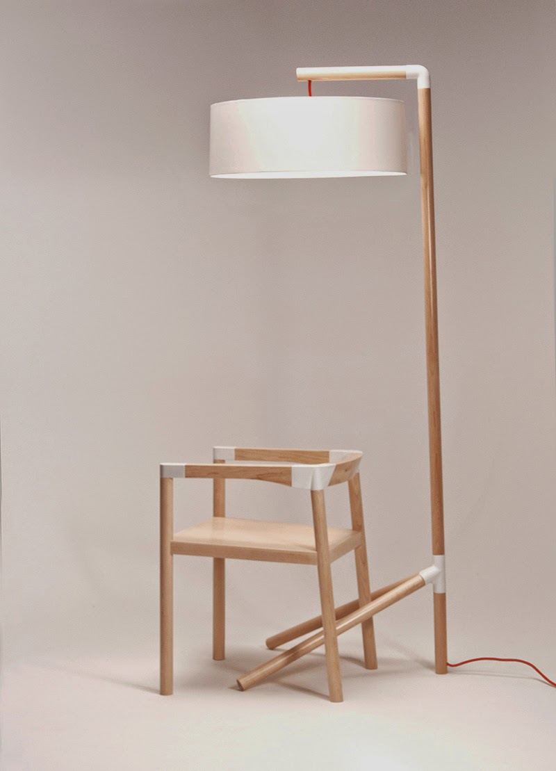 Peg-Lamp-and-chair-by-Tomas-Rojcik