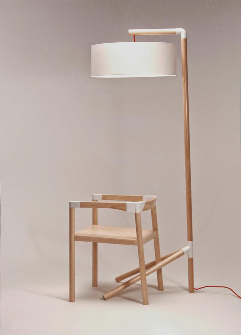 Peg-Lamp-and-chair-by-Tomas-Rojcik