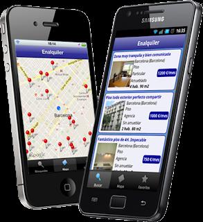 Las nuevas tecnologias aplicadas al sector inmobiliario - Aplicaciones para buscar piso ...