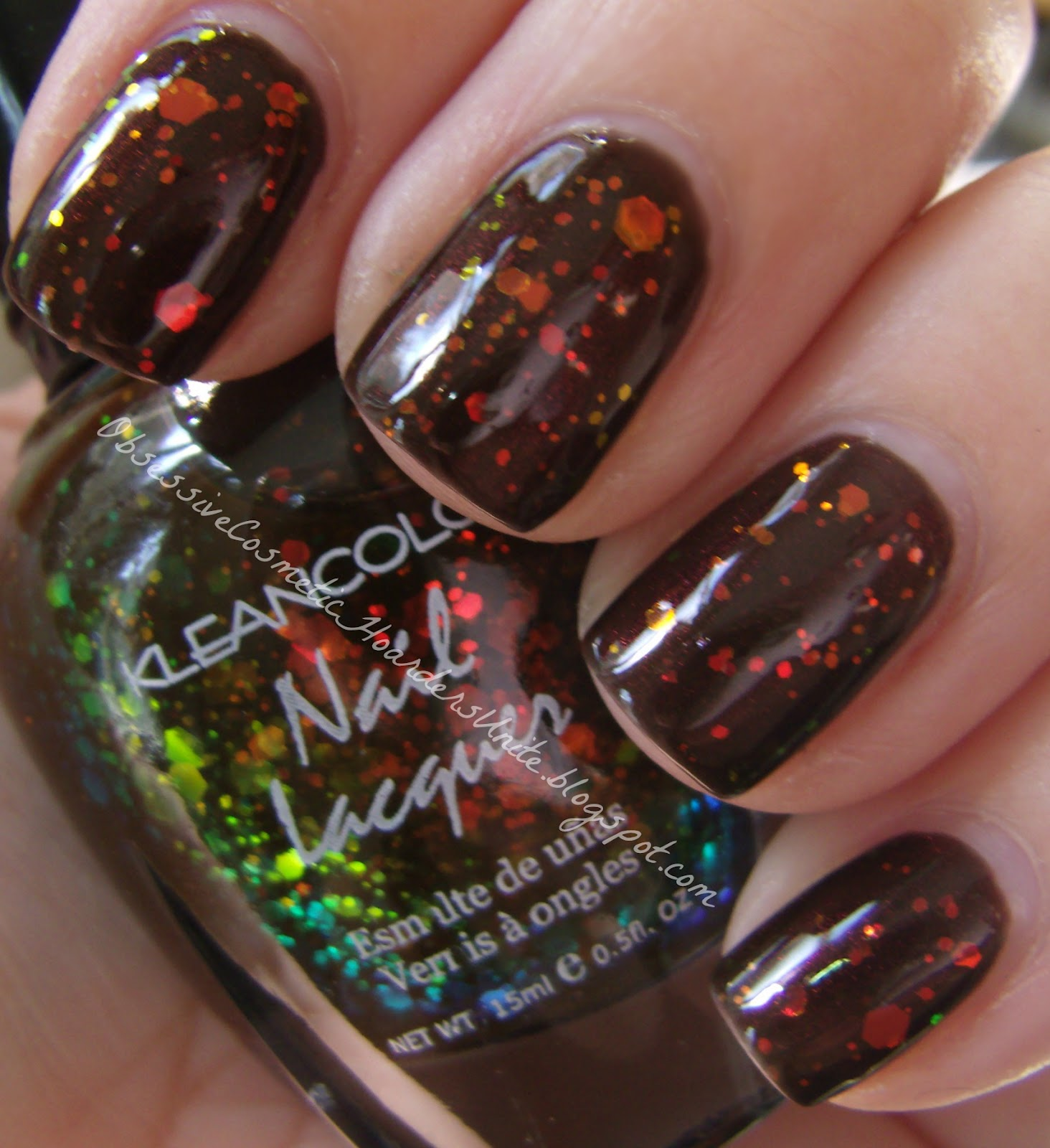 Black Nail Polish What Does It Mean: Obsessive Cosmetic Hoarders Unite!: Wet N Wild Megalast