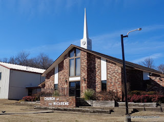 Church of the Nazarene in Tahlequah Oklahoma