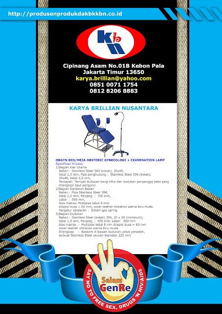 distributor produk dak bkkbn 2015, produk dak bkkbn 2015, obgyn bed 2015, obgyn bed bkkbn 2015, obgyn bed, kie koit 2015, genre kit 2015, iud kit 2015, implan removal kit 2015, plkb kit 2015, ppkbd kit 2015,