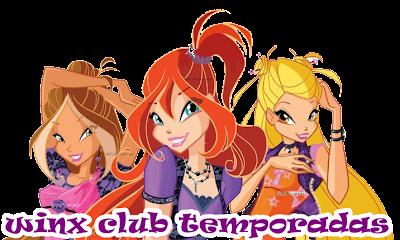 winx club temporadas
