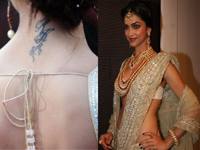 Hot Tattoos, Bollywood Actress Sexy Tattoos