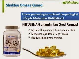 omega guard shaklee untuk alahan susu lembu