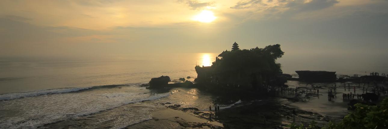 Tanah Lot, The Enchantment Of Sunset At Pura Penaung Samudera
