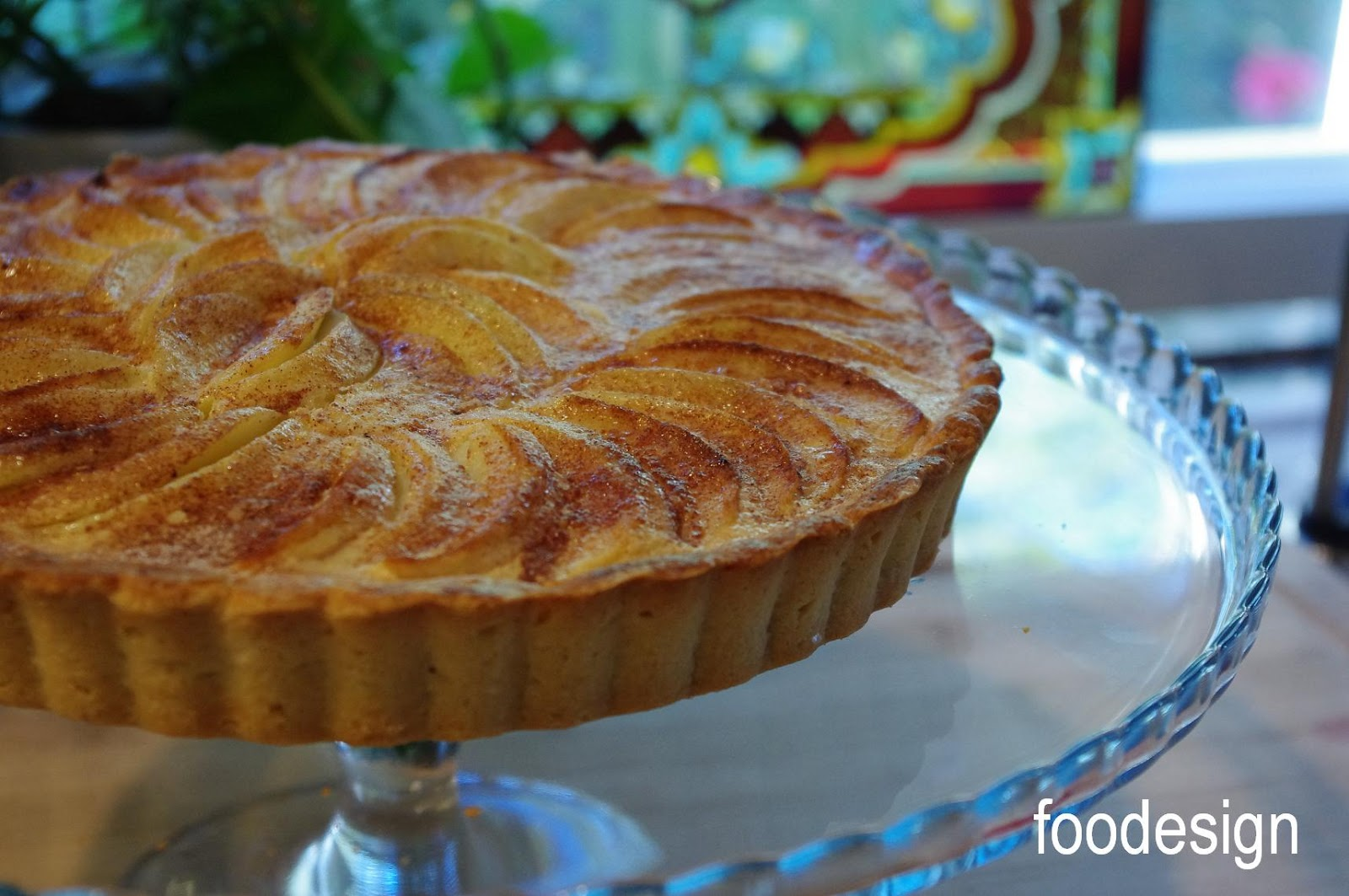 """baked in a 9"""" tart pan with removable bottom"""