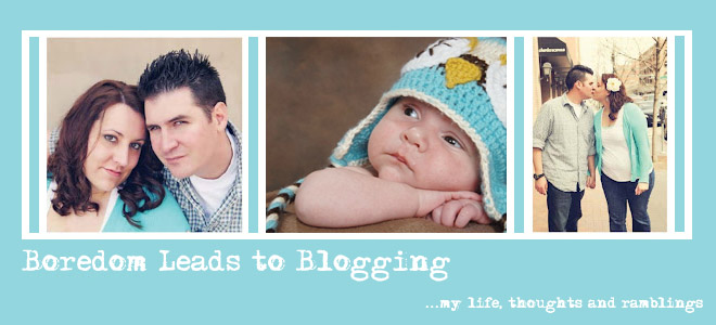 boredom leads to blogging