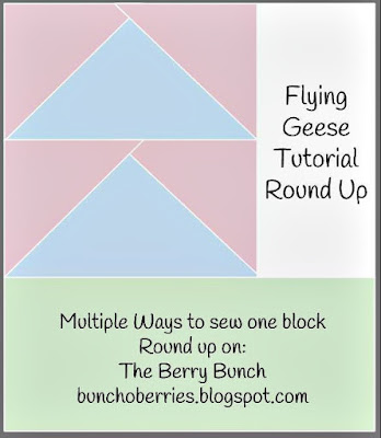 The Berry Bunch: Flying Geese Tutorial Round Up