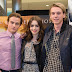 Lily Collins y Kevin Zegers firman pósters de The Mortal Instruments