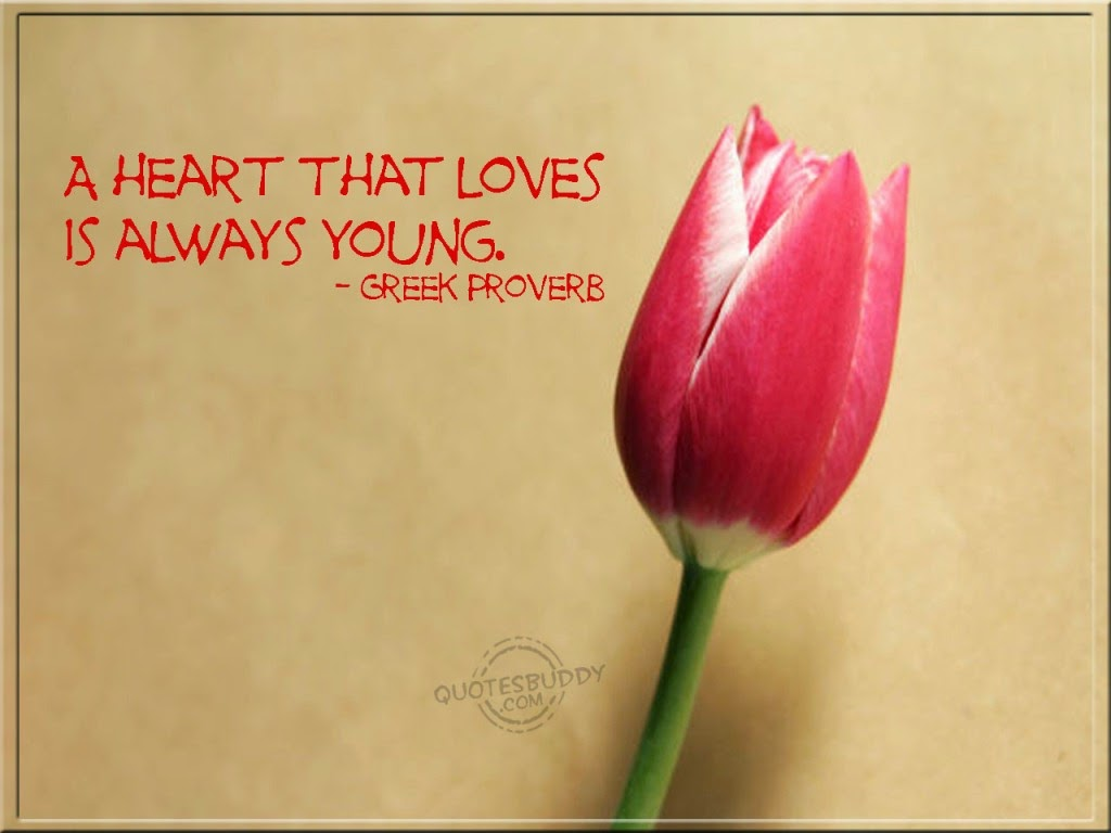 Greek Proverb About Love