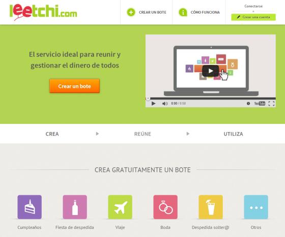 Leetchi - El crowdfunding para organizar eventos con tus amigos y familiares