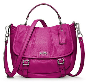 Ready Stock Coach Madison Leather Annabelle 21223 Magenta