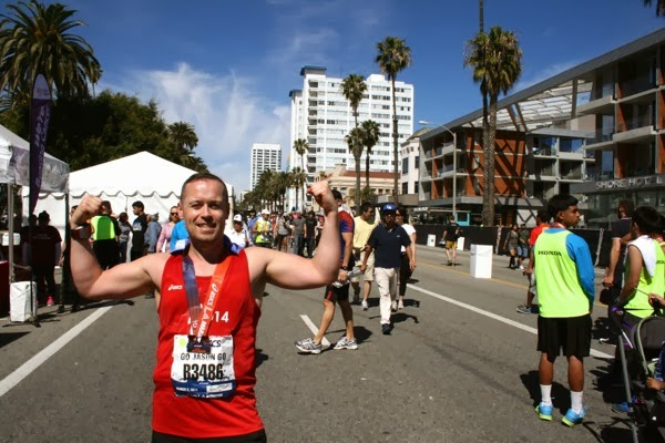 After the LA Marathon 2014