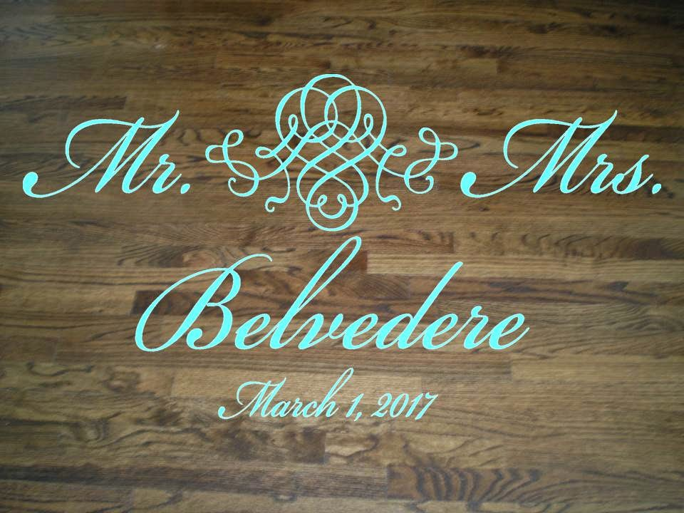 http://www.touchofbeautydesigns.com/products/elegant-wedding-floor-decal/