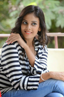 Actress Chandini Latest Pictures in Jeans at Kiraak Release Date Announcement Press Meet  0044