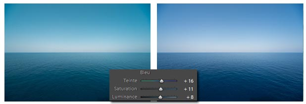 Lightroom - Couleurs