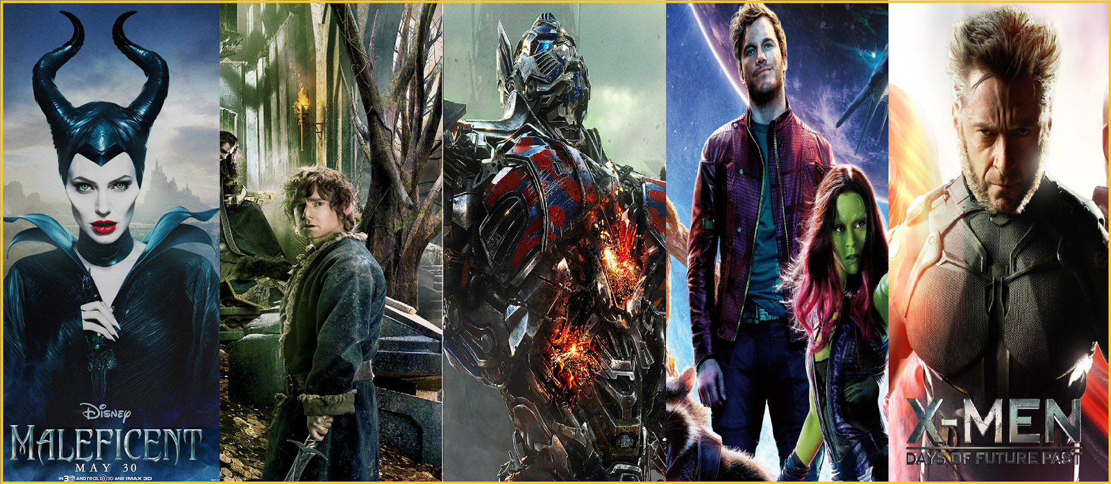 Top 20 Highest Grossing Movies 2014