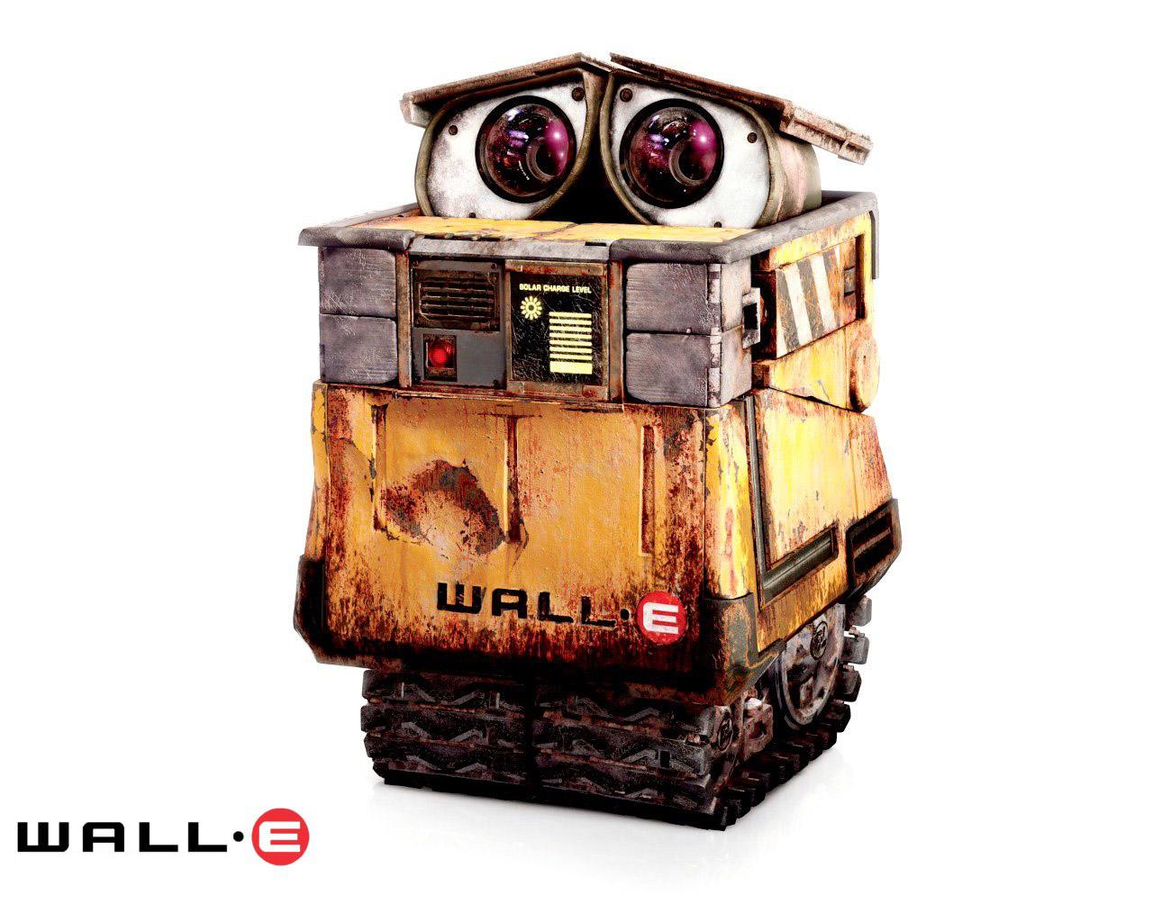 wall e Desde que era un niño, siempre me han gustado los robots me encantaban r2-d2, c3po por esto, decidí construir mi propio robot yo.