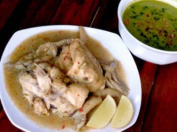 Resep Membuat Ayam Cipera Bergaya Karo