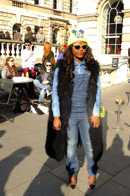 fashion setter at LFW AW12