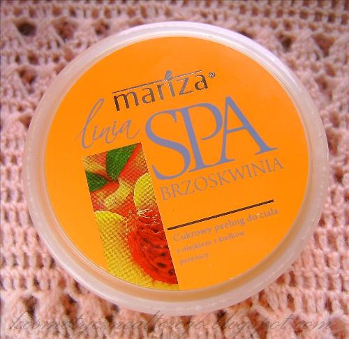 Recenzja: Mariza Spa, Brzoskwiniowy peeling i poziomkowe masło do ciała