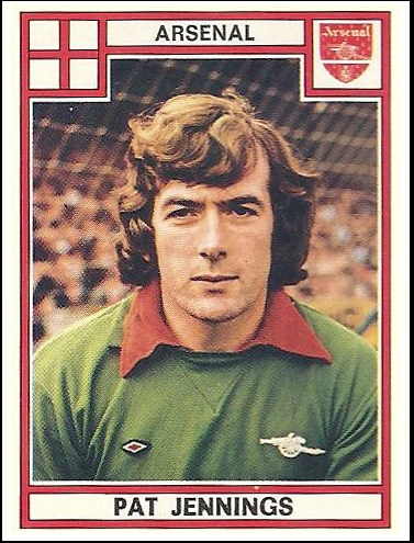 Pat+jennings+panini+arsenal