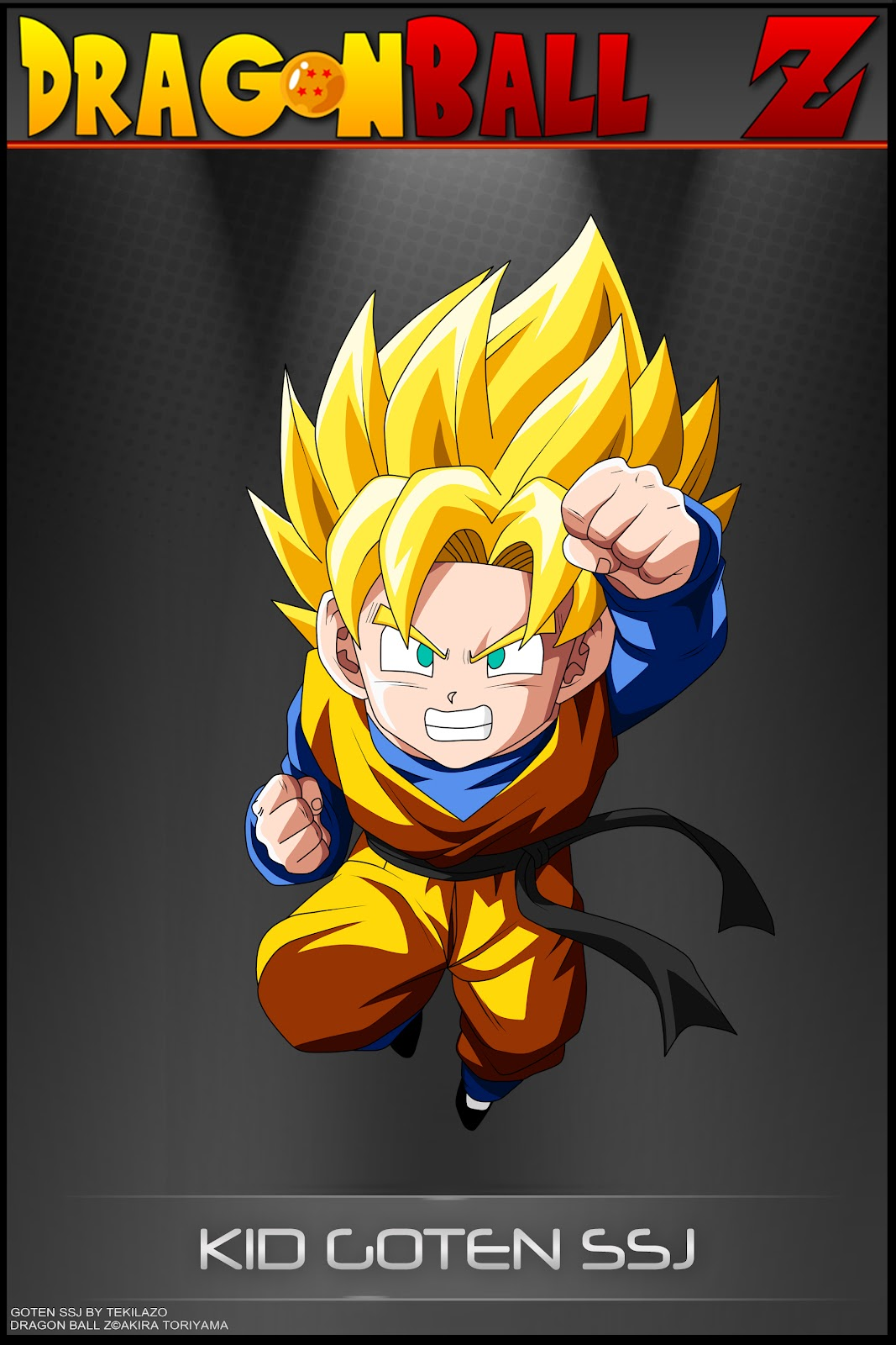Dragon ball z wallpapers goten super saiyen - Photo dragon ball z ...