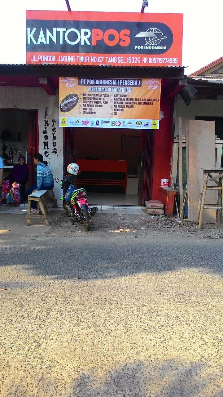 Kantor Pos Pondok Jagung Timur Serpong Utara Tangerang Selatan Kantor Pos Pondok Jagung Timur
