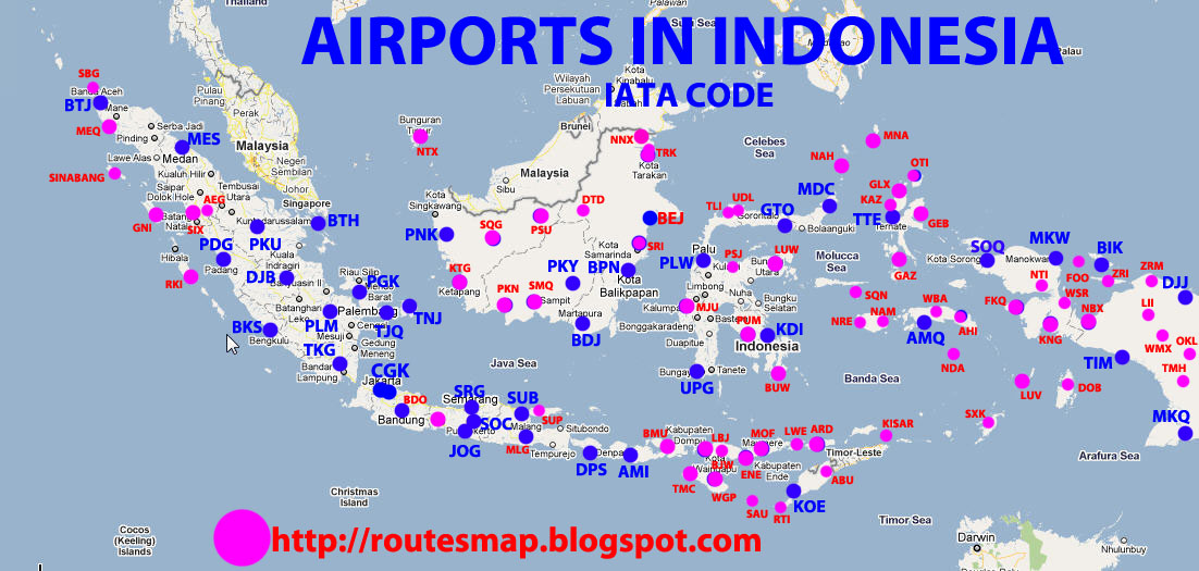 Luwuk Indonesia  city photo : airports in Indonesia. source via milleniumtransportation