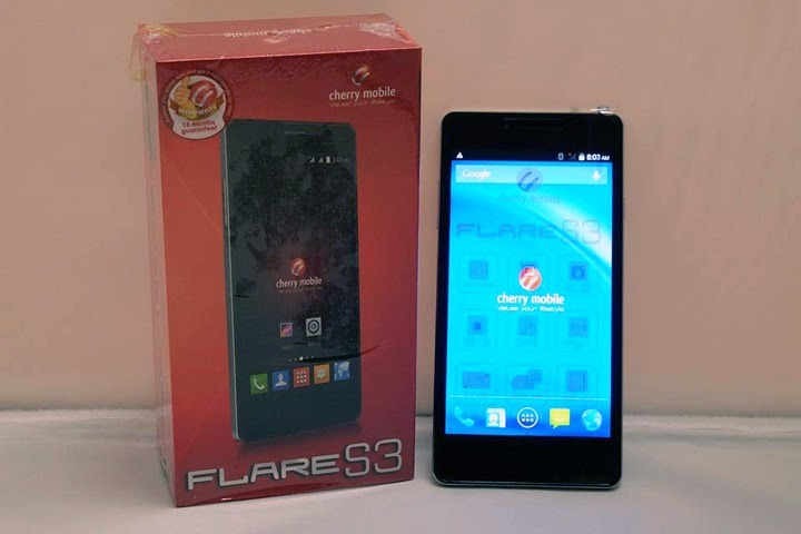 Cherry Mobile Flare S3 with <strike>USB OTG</strike> and 13MP Camera Revealed – Same Price as Flare 3!
