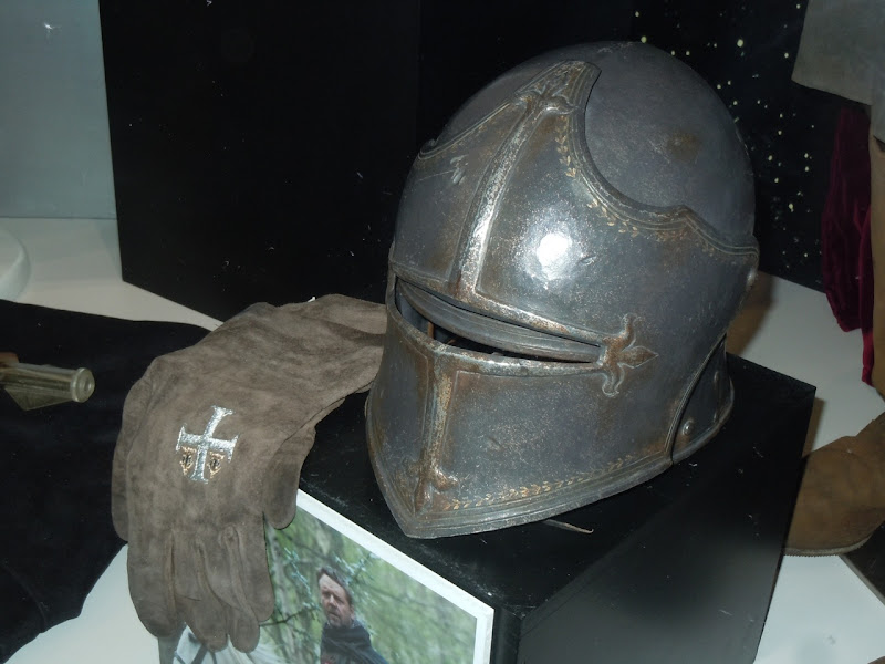 Crusader Knight helmet Robin Hood movie
