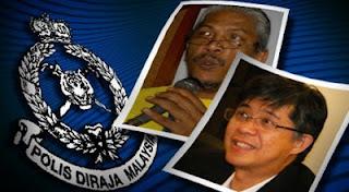 Tian Chua, Haris Ibrahim ditahan polis