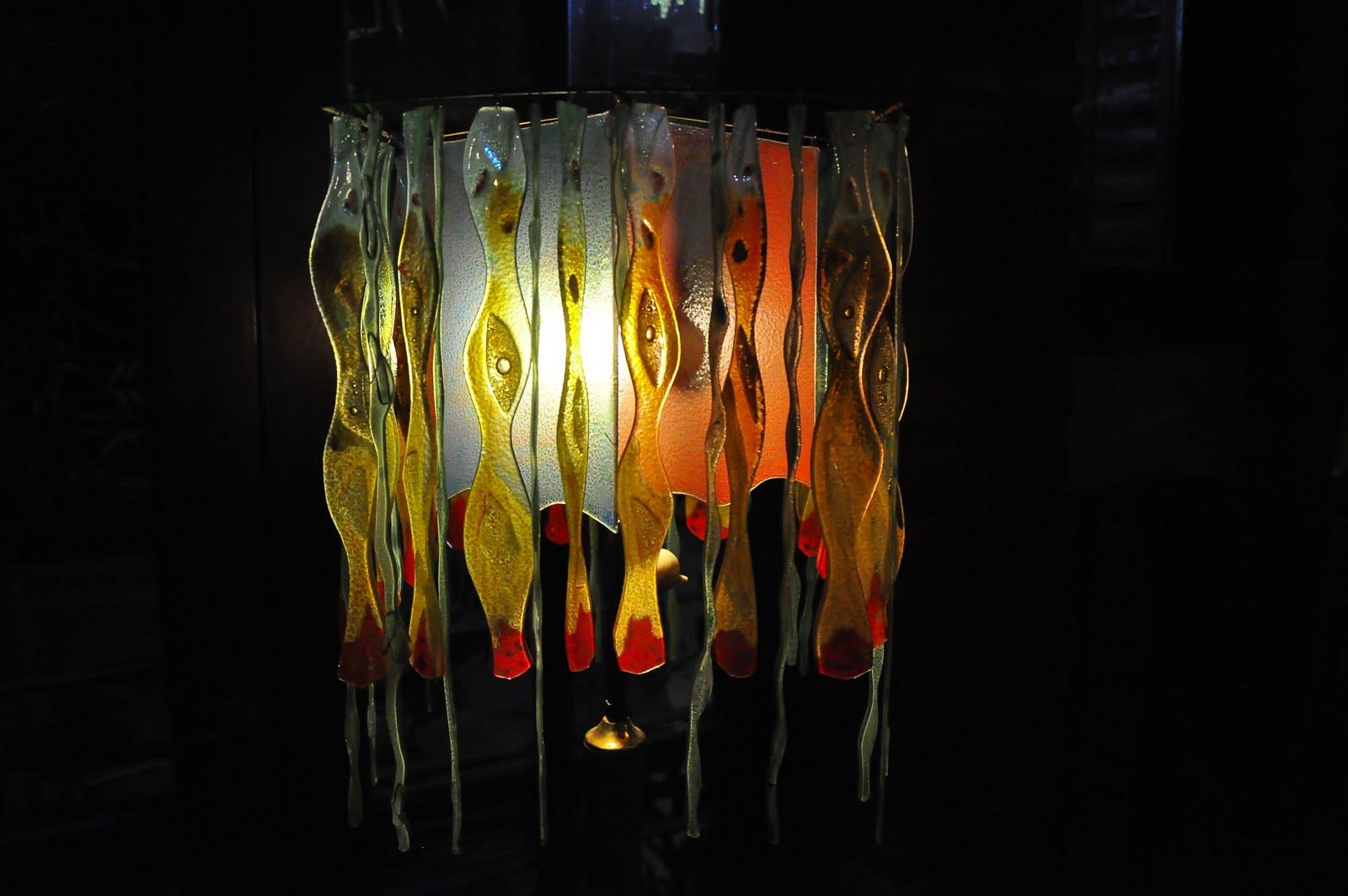 Zur arte vitrofusion iluminacion - Lamparas de pie artesanales ...