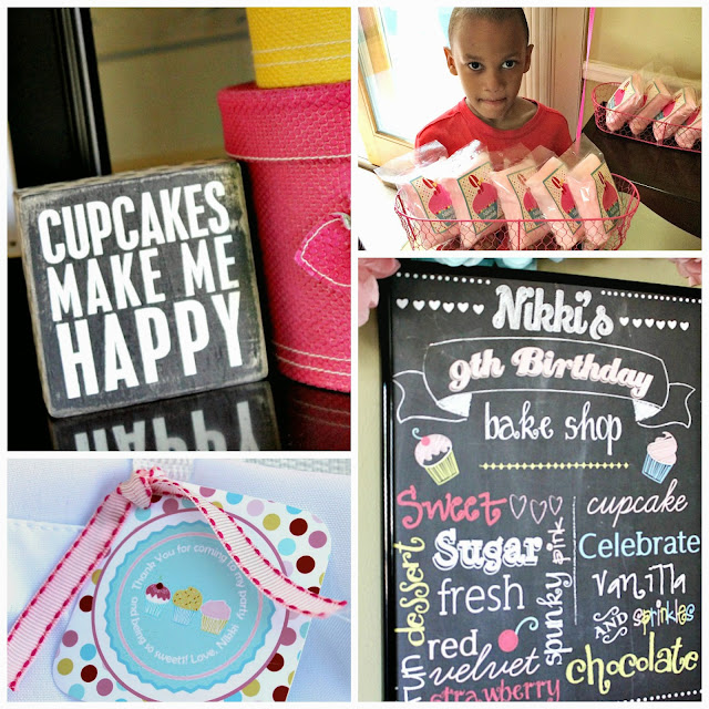custom cotton candy bags, soiree events, sunny by design, tomkat studio, paper+pop, cupcake party ideas, cupcakes make me happy