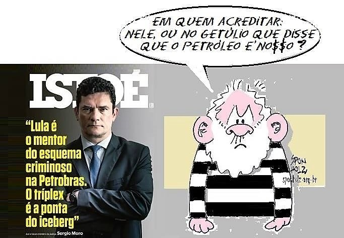 De acordo com Vargas, o petróleo é da petralhada, pô!