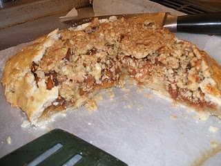 Mirepoix: Marsala Fig and Pear Crostata with Steusel Topping