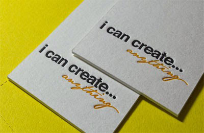 Colorplan Business Cards: Online Buy 600gsm Letterpress Business Cards
