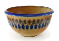 Graphic Patterned Bowl